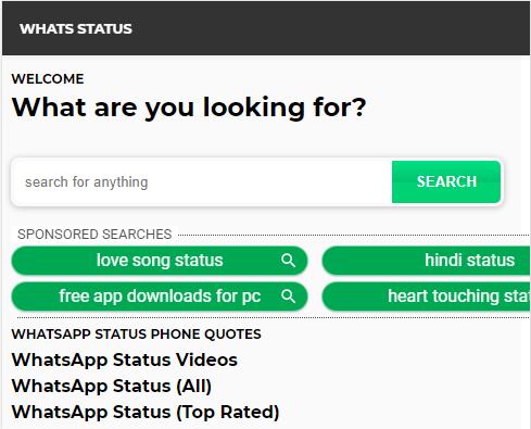 whats status